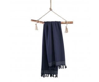 Walra Soft Cotton Hamamdoek 100x180 cm 650 gram Navy