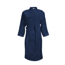 The One Badjas zonder capuchon 340 gram Donker blauw