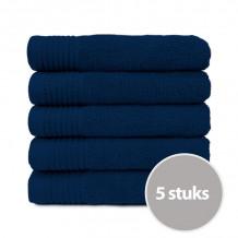 The One Handdoek Deluxe 50x100 550 gr Navy Blue